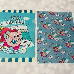 BN Set of Kirby Clear Files